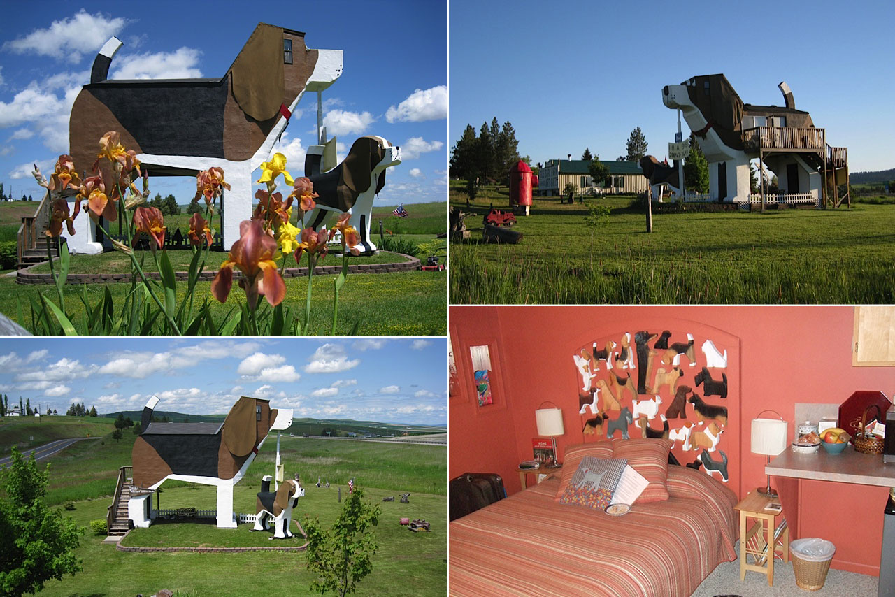 Dog Bark Park Inn, Montana