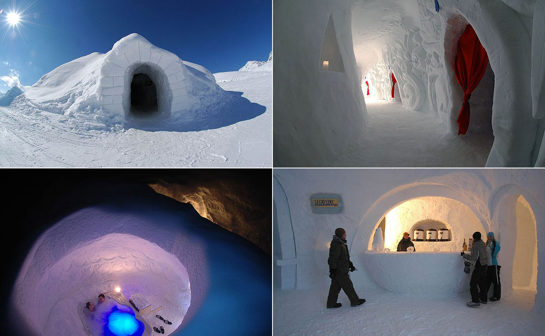 Iglu Dorf-Davos, Swiss Alps