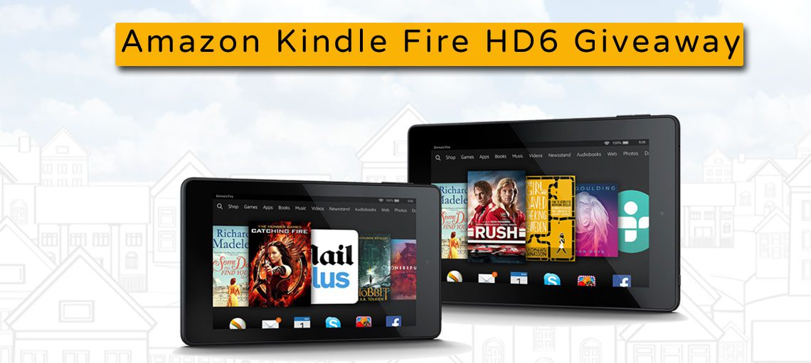Enter our Amazon Kindle Fire HD6 Sweepstakes!