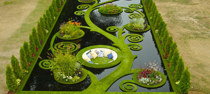 Water Paradise Garden Ideas for Summer