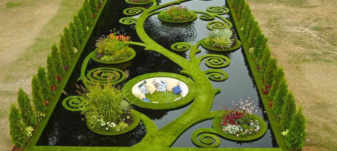 Water Paradise Garden Ideas for Summer