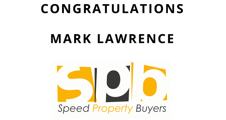 Congratulations Mark Lawrence