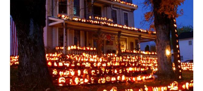 Jack o Lantern House