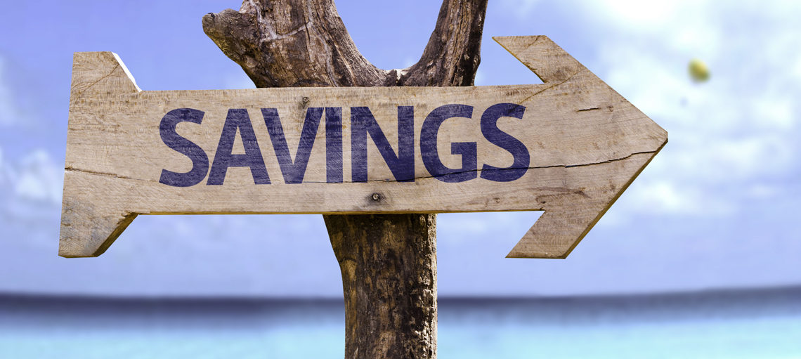 Savings Sign