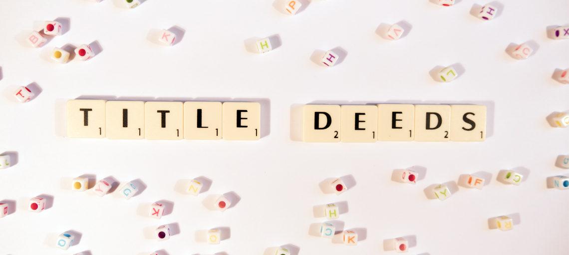 Title deeds scrabble